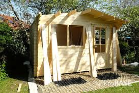 probase kit 4m x 5m log cabin or garden