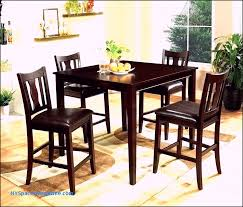 tall leather dining chairs room sets set furniture 9 piece counter height brown