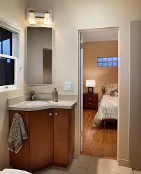 Metal Sink Cabinet Corner Sink Cabinet Ideas Bathroom Contemporary With Sconce Metal