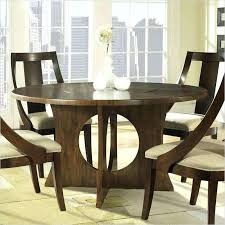 table with lazy susan built in our second round table is a striking all wood example