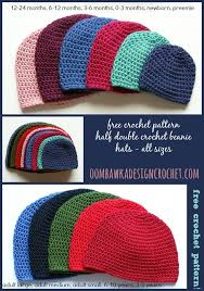 Half Double Crochet Beanie Pattern