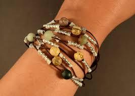 womens leather bracelet leather cuff bracelet for women beaded bracelet sterling silver bracelet gemstones leather bracelet gifts