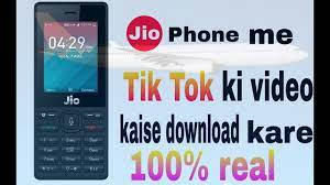 Download How To Download Tik Tok In Jio ...