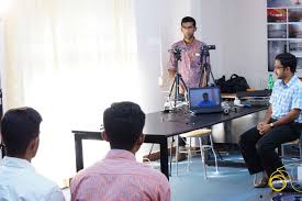 placement support and online interviews amal jyothi college of dsc05215