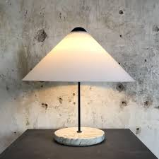 Vico Magistretti Lighting Rare Snow Table Lamp By Vico Magistretti For Oluce Italy