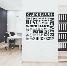 wall decal for office. Wall Decal Office Inviting Work Spaces Rules Collage Quote Lettering For O