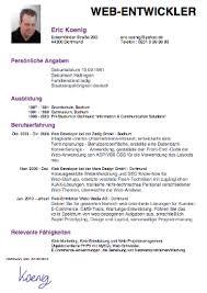 Awesome Resume Auf Deutsch Gallery Simple Resume Office ...