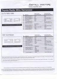 2002 toyota corolla stereo wiring diagram Toyota Stereo Wiring Diagram 2002 Toyota Corolla Radio Wiring Diagram #24