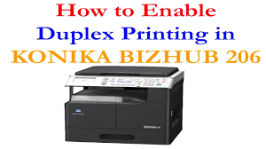 Konica minolta, and (c) you must assure that such other party has agreed to accept the terms and conditions of this agreement. How To Enable Duplex Printing In Konika Bizhub 206 ह द म Youtube