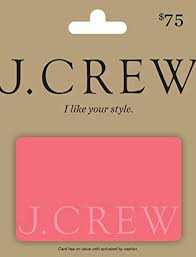 Amazon.com: J.Crew Gift Card $75: Gift Cards