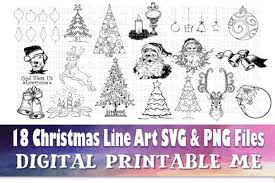 Here are our mandalas coloring pages that interest you the most at this moment (according to the numbers of views and prints). 1 Christmas Line Art Designs Graphics