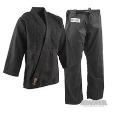 Proforce Gladiator Black Judo Uniform Awma
