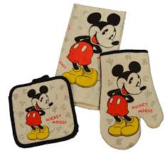 Mickey Mouse Kitchen Appliances Amazoncom Disney 3 Piece Kitchen Set Mickey Mouse Letters Home