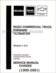 2001 2002 npr nqr w3500 w4500 w5500 electrical troubleshooting 1999 2001 diesel chassis repair shop manual factory reprint npr nqr w3500 w4500 w5500