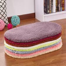 Scallop Edge Cotton Bath Rug In Happy Colors  Garnet Hill  32 Colorful Bathroom Rugs