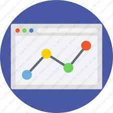 Chart Screen Download Chart Presentation Sales Screen Statistics1 Icon Inventicons