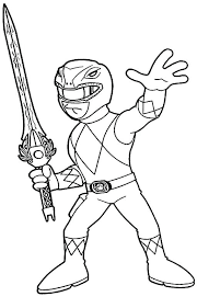 Power Rangers Color Pages Coloring Pages Of Power Rangers Page