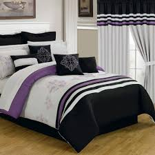 Lavish Home Rachel Black 24-Piece Queen Comforter Set