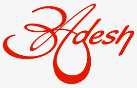 adesh name logo free transpa