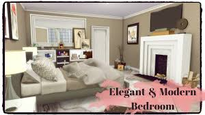 Modern Elegant Bedroom Sims 4 Elegant Modern Bedroom Youtube