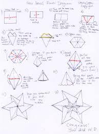 star petal flower   utterlyorigamihow to make the star petal flower