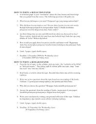 essay format reflection essay format