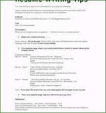 Show Me An Example Of A Resume 52 Ideas You Have To Consider