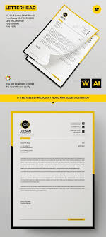 Letterhead Design In Word 40 Letterhead Templates Word Illustrator Photoshop