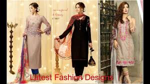 Winter Suits Design For Ladies Winter Salwar Suits For Ladies