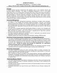 Call Center Resume Sample Call Center Resume Sample Inspirational Awesome Collection Call 51