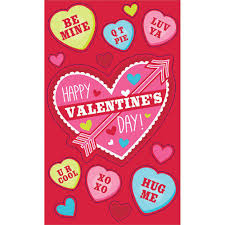 Amscan 4 In Valentines Day Cards With Stickers 24 Count 9 Pack