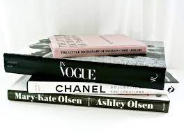 books i can use for decorations chanel