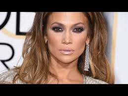 jennifer lopez 2016 golden globes makeup tutorial