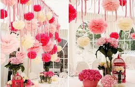 Tissue Paper Flower Decor 6 Inch Handmade 12 Colors Tissue Paper Flowers Pom Poms Balls
