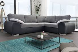 colorado corner sofa bed suite couch corner group in black grey left or right