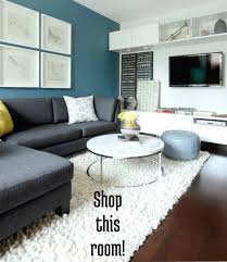 Shop This Room: A White Accent Wall