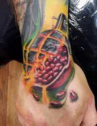 граната и гранат тату на руке фото татуировок