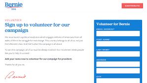 bernie sanders for president. bernie sanders for president volunteer.png