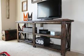 free diy tv stand plans you can build
