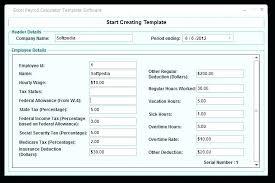 Payroll Spreadsheet Template Excel Payroll Spreadsheet Templates