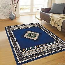rugs area rugs carpets 8x10 rug big southwestern large cute floor cool blue rugs