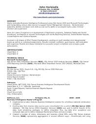 sql server developer resume sample ...