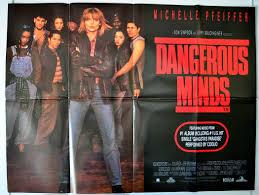dangerous minds original cinema movie poster from  dangerous minds view larger image