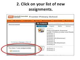 guide to completing e assignments on mc online click on your list of new assignments