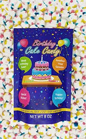 Happy Birthday Cake Flavored Candy Gluten Free Treats For Birthday