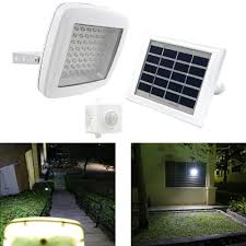64led guardian 480x solar powered led security outdoor flood light solar pir motion sensor garden lamp with 3steps timer setting in solar lamps from lights