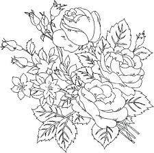 Free Printable Flower Coloring Pages For Adults Vputiinfo