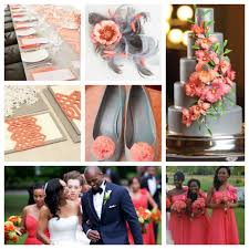 Coral Color Combinations Grey And Coral Wedding Color Scheme I Do 3 Pinterest Coral