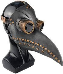 Forart <b>Plague</b> Doctor Bird Mask Long Nose Beak <b>Cosplay</b> Retro ...