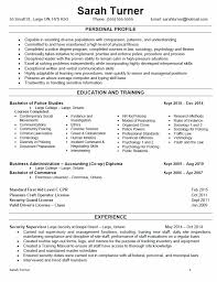 food runner resume sample